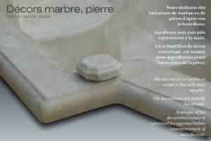 Baignoire marbre - Watergame
