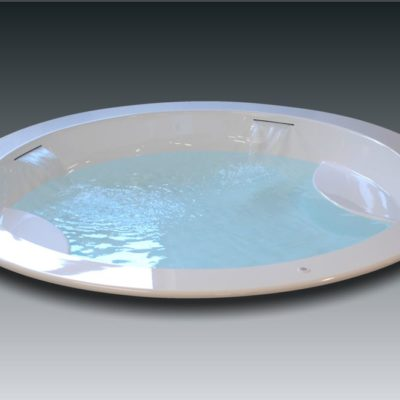 grande baignoire ronde