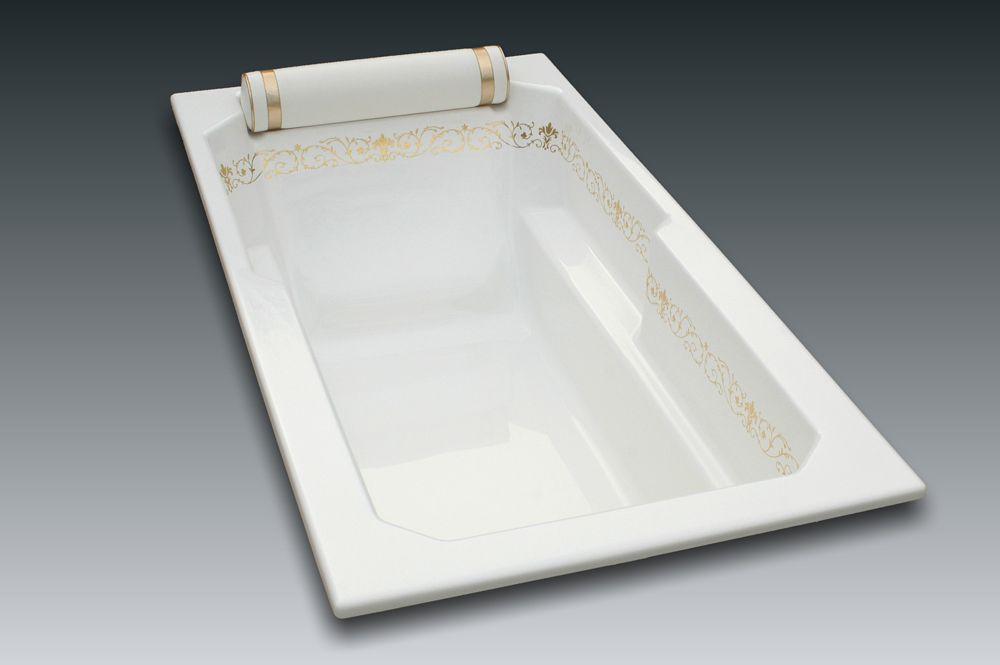Baignoire Confortable A Encastrer Mini Plaisance 180x90cm
