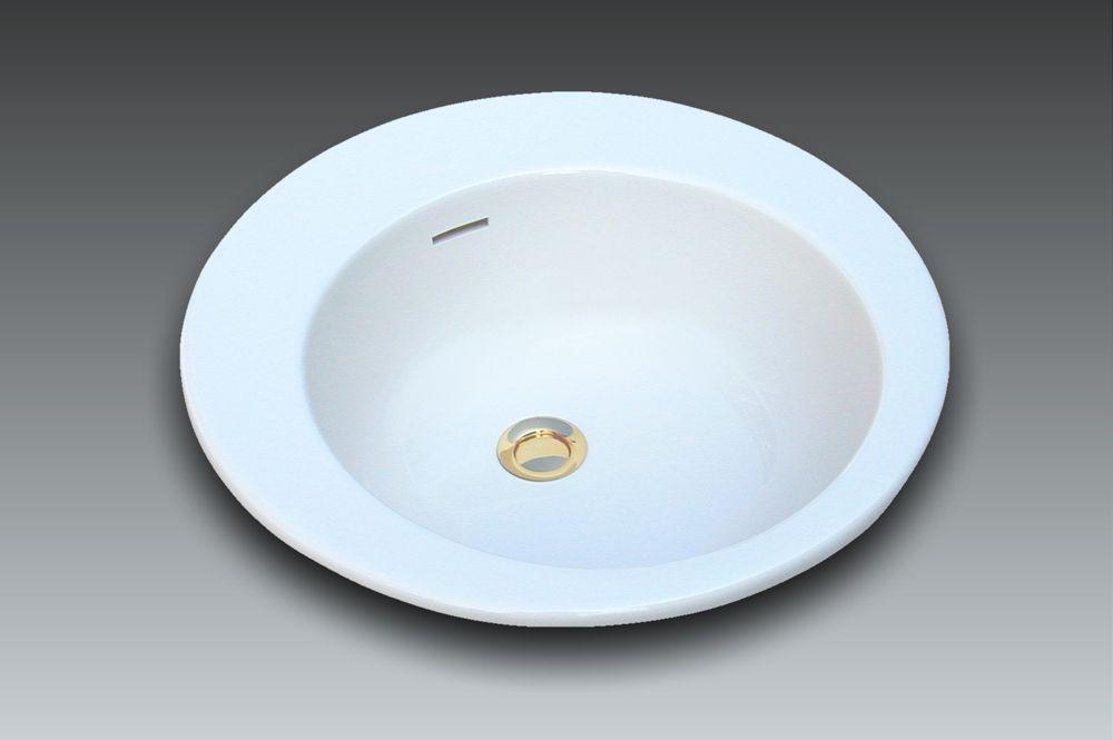 Vasque ronde à encastrer EXCEL by Watergame Company