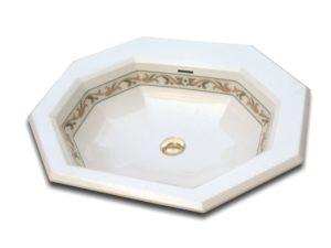 Vasque octogonale luxe GENOVA by Watergame