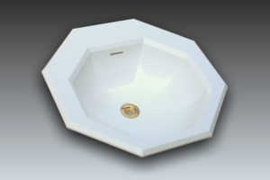 Lavabo octogonal luxe GENOVA by Watergame