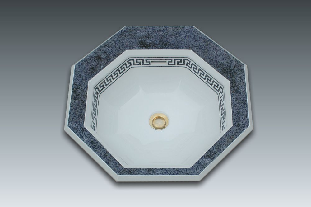 vasque octogonale