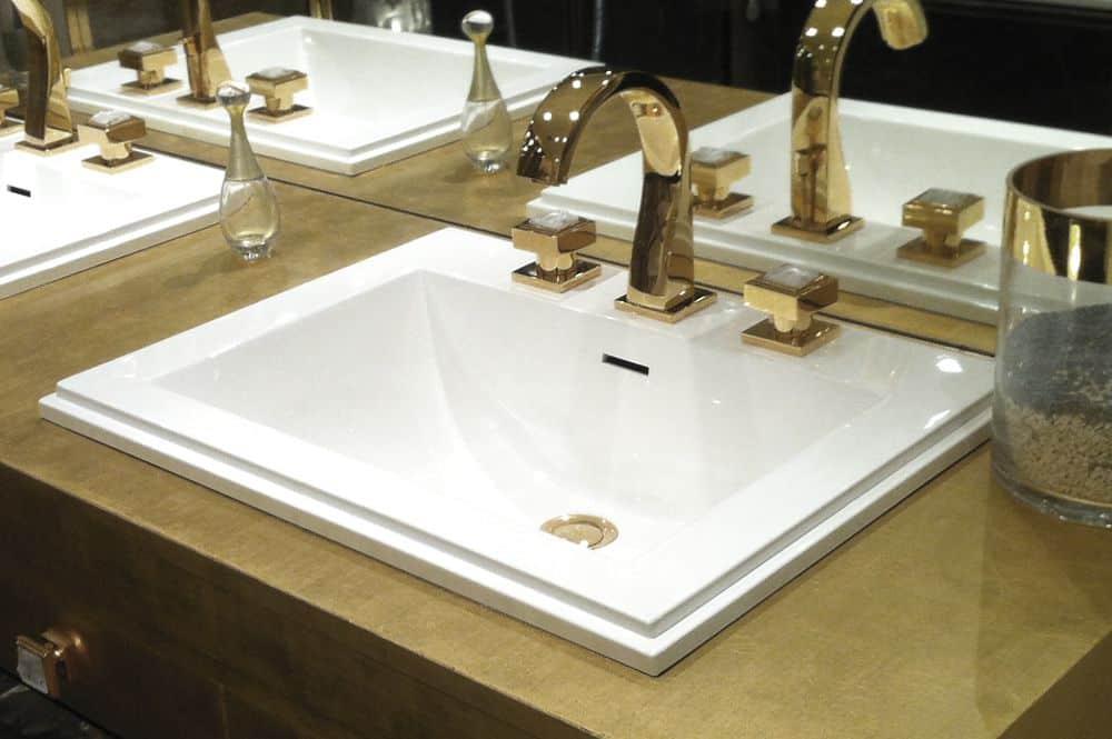 vasque rectangulaire de luxe METRO by Watergame Company