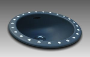 Lave-mains rond MINI-MOON by Watergame