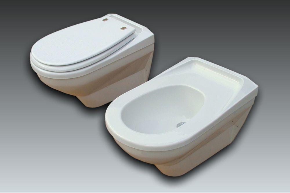 wc et bidet suspendus