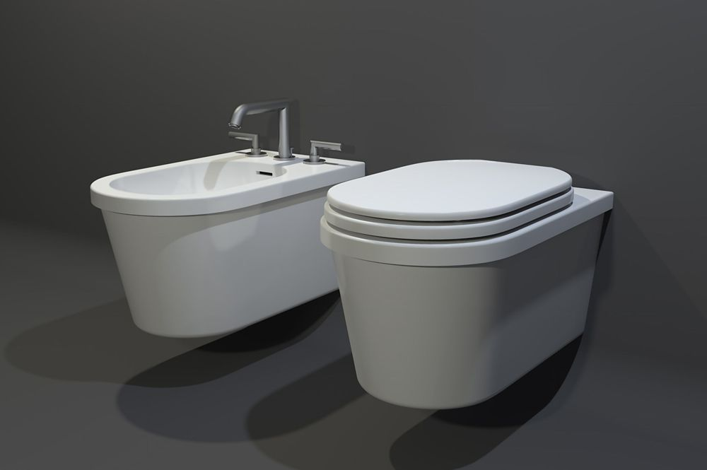 WC moderne THEOS by Watergame