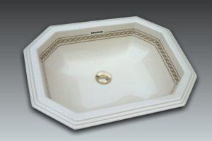 Vasque octogonale 57x45cm - Zenith 2