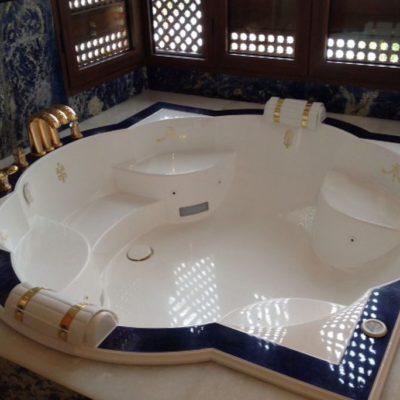 baignoire grand luxe