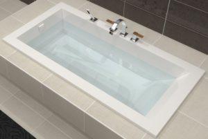 baignoire contemporaine