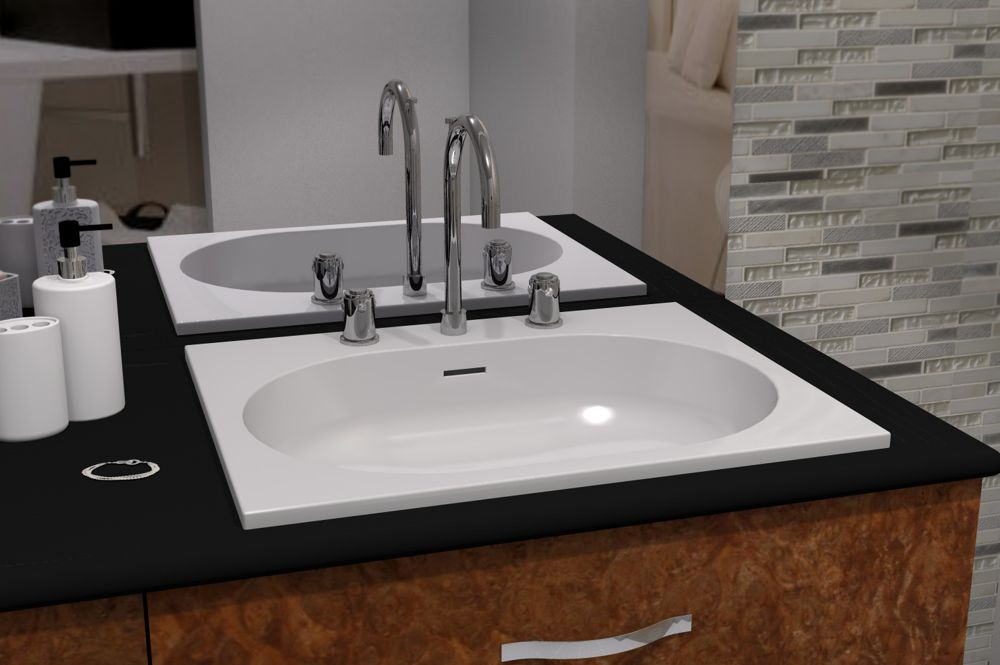 Lavabo rectangulaire SERENA by Watergame Company