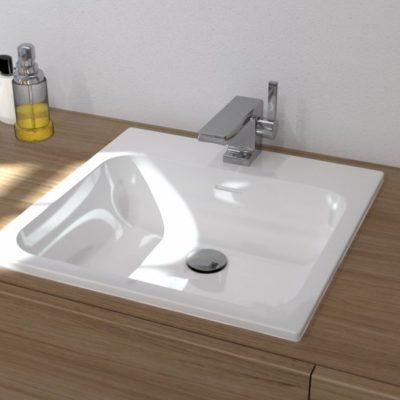 Vasque encastrable carrée SQUARE by Watergame