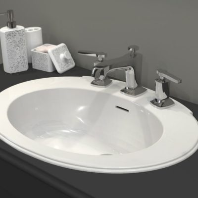 Vasque ovale haut de gamme ATHENA by Watergame