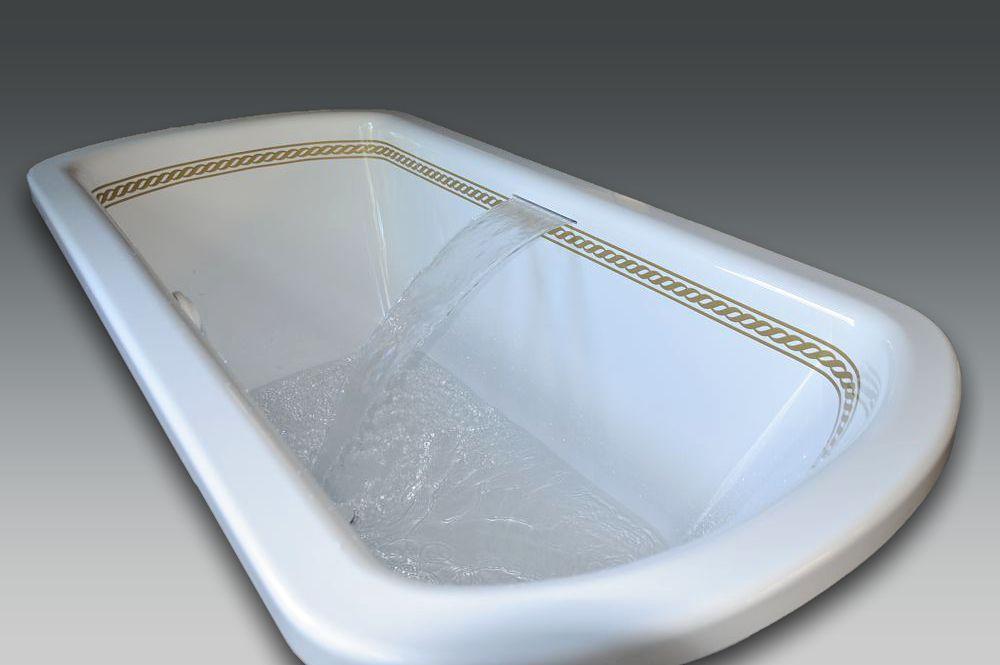 lame d'eau de baignoire