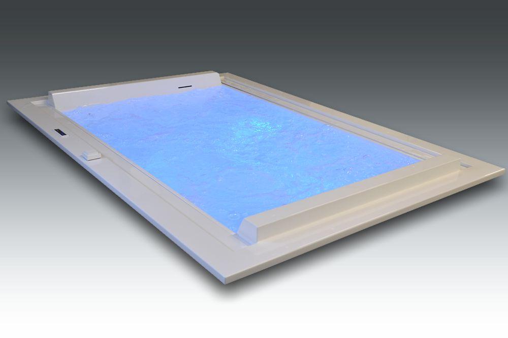 baignoire de luxe avec système balnéo Watergame