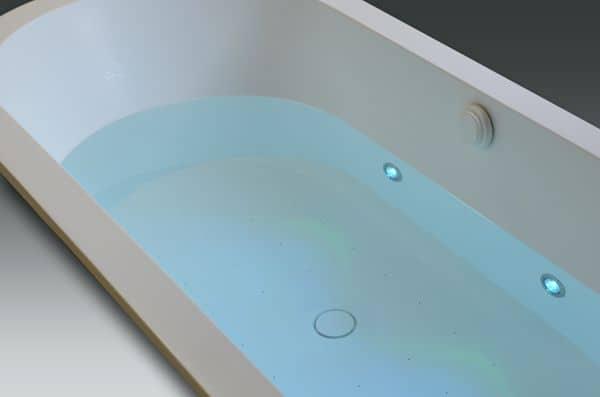 bain à bulles et bain à remous