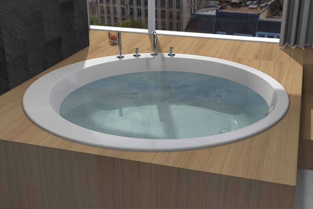 Baignoire Ronde De Luxe Baignoire Ronde D 180cm Watergame Company
