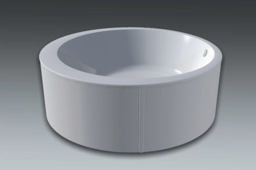 baignoire ronde en îlot - Excel 2
