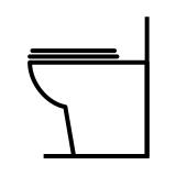 WC et bidets à poser