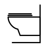 WC et bidets suspendus