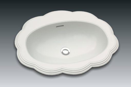 vasque en forme de fleur