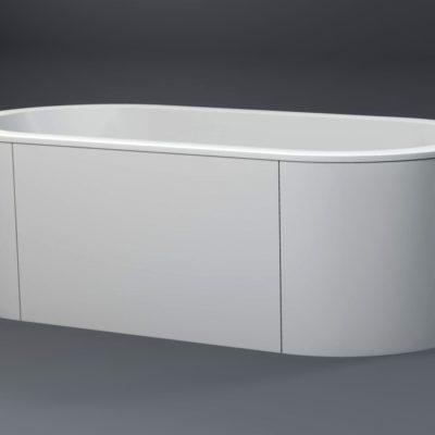 baignoire-balneo-en-ilot-Acess 190x95 by Watergame Company