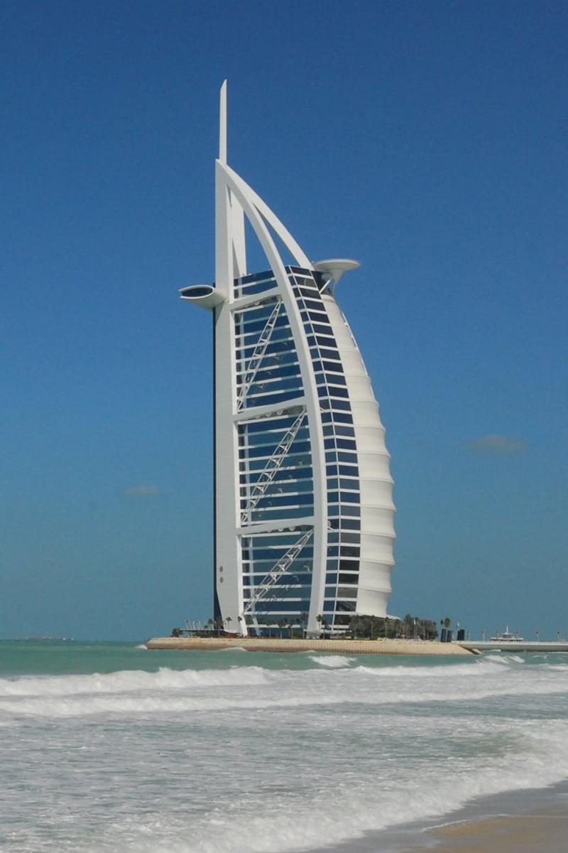 Burj Al Arab - Watergame