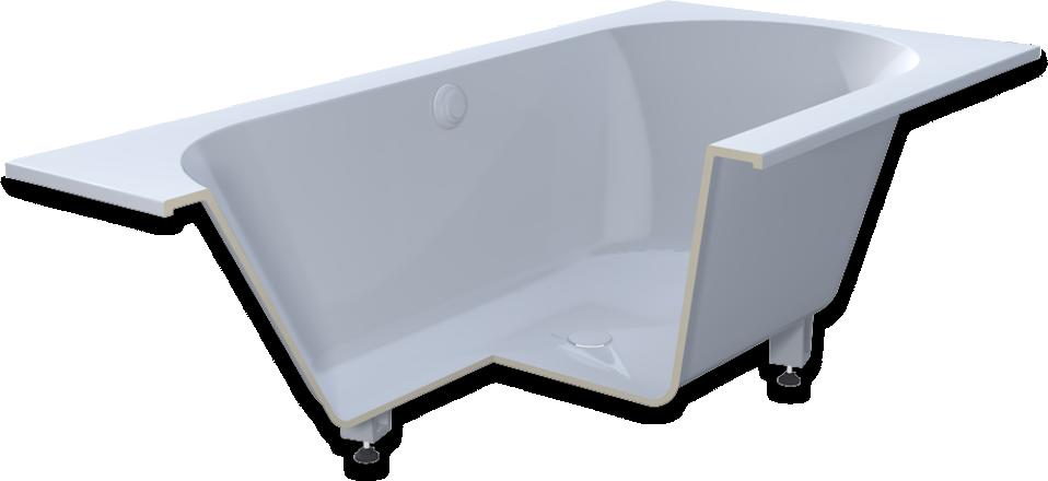 baignoires en composite Ceralite